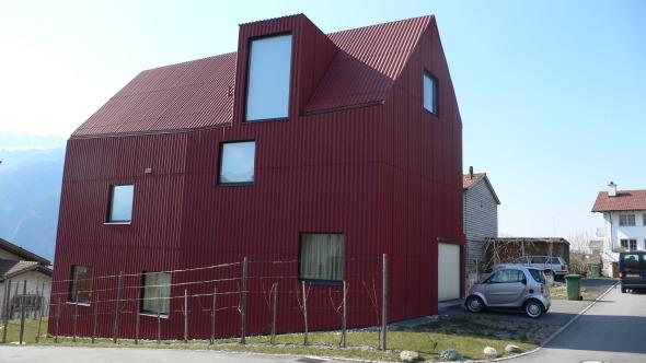 Innovadora Vivienda Rural Walther House Bearth And