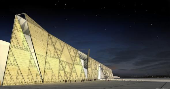 El Gran Museo de Egipto / Heneghan.peng.architects