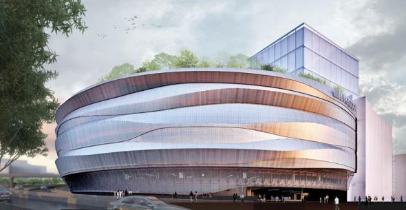Espectacular fachada para una tienda / Rojkind Arquitectos