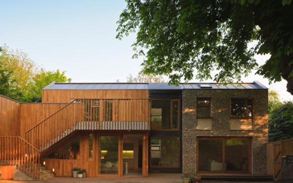 Casa Flint, una estructura que se integra a la naturaleza / Nick Willson Arquitectos