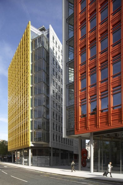 Edificio Central St. Giles Court / Renzo Piano y Fletcher Priest Architects