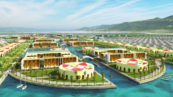 Harvest City, una colorida arquitectura flotante para Haití