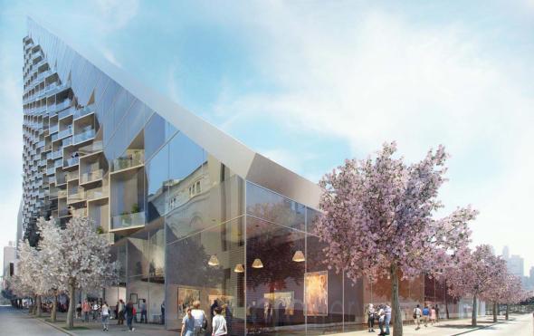 West 57, un innovador edificio que combina el bloque de viviendas europeo y el rascacielos / BIG