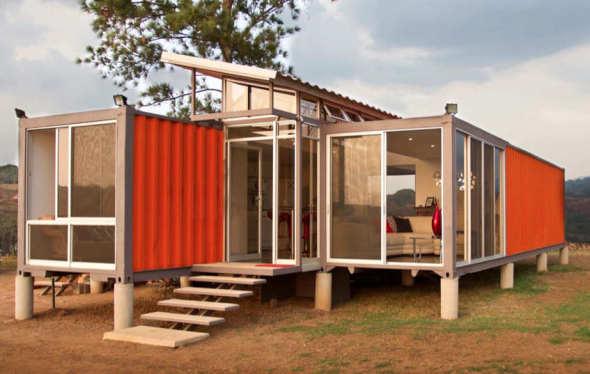 contenedores para una casa de campo benjamn garca saxe - Casas Con Contenedores