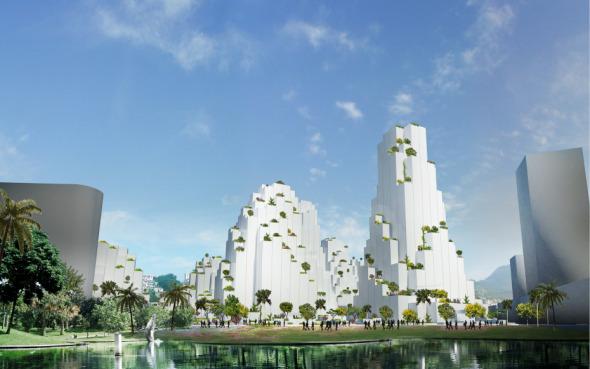 Torres para el Puerto Olímpico de Río de Janeiro / JDS