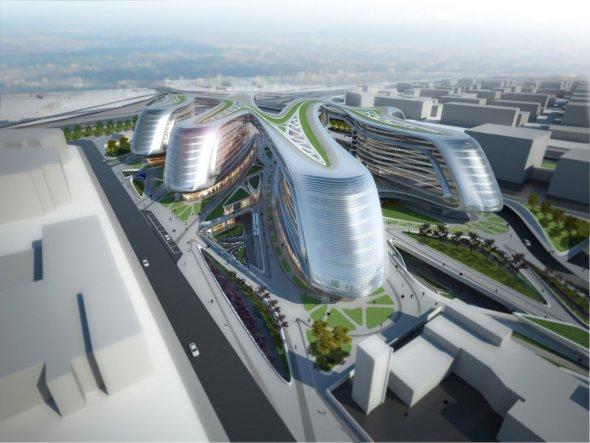 Hongqiao Soho de Shanghai, un espectacular edificio de uso mixto / Zaha Hadid