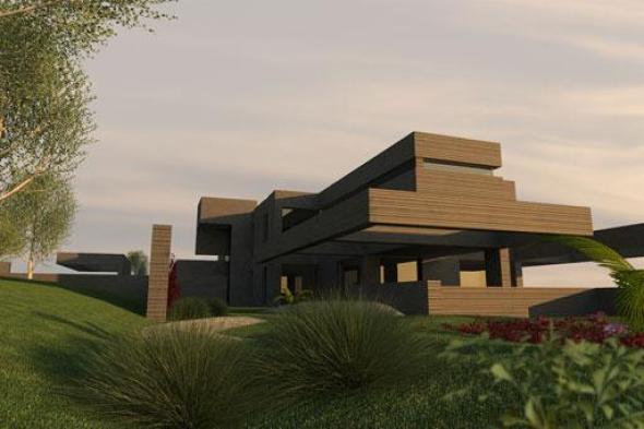 Baños Lujo Vestidores:El proyecto incluye nueve vivienda s unifamiliares de lujo con alberca