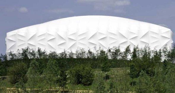 Ejemplo de reciclaje arquitectónico. El Estadio Olímpico de Basketball para Londres 2012