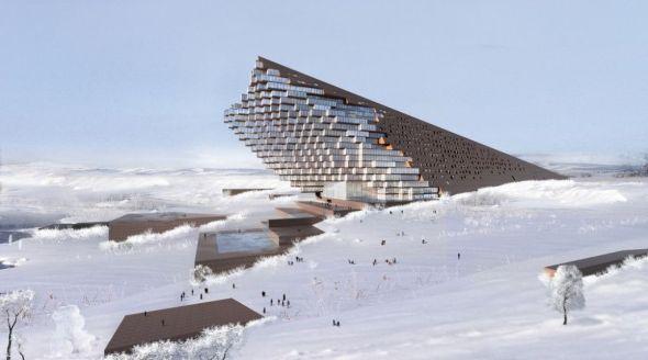 Una joya en medio del desierto: Hotel Yellow River / Sunlay Design