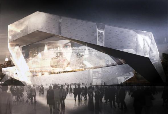Cinema en Long Island / Madjid Montazeri + Ali Afsarmanesh