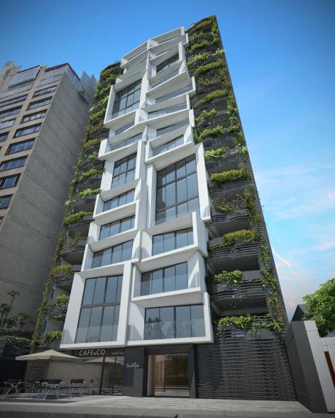 Loft tower xte a d noticias de arquitectura buscador for Arquitectura minimalista edificios