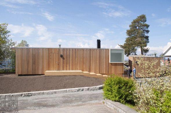 Casa de Retiro de verano en Noruega / RRA