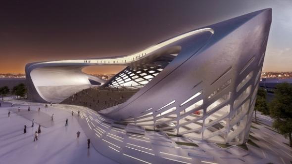 Centro Internacional de Convenciones en Bogotá / Zaha Hadid + JMPF Arquitectos