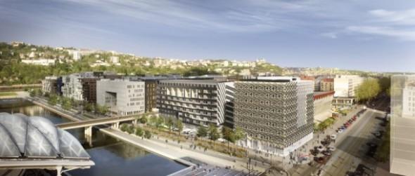 Lyon Confluence, renovación de la ciudad