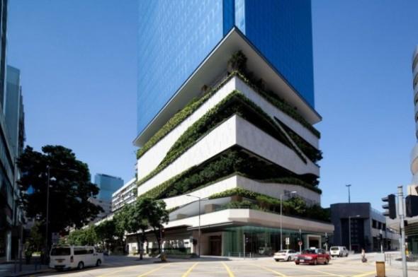 Estacionamiento verde / Aedas