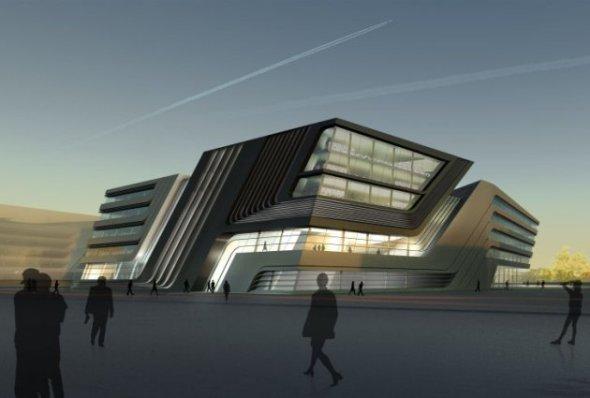 Biblioteca y Centro de Aprendizaje / Zaha Hadid