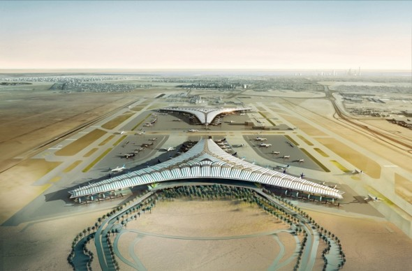 Aeropuerto Internacional en Kuwait / Foster and Partners