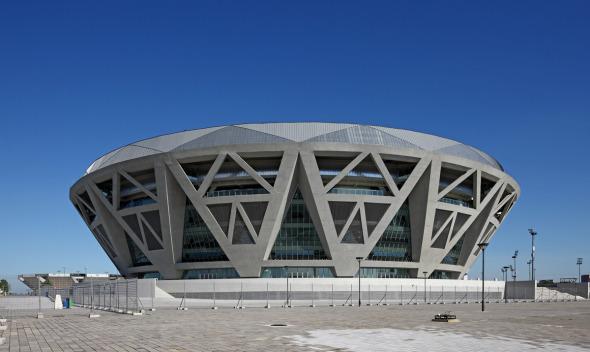 Una joya para los deportes: Arena Diamante / Atellier 11