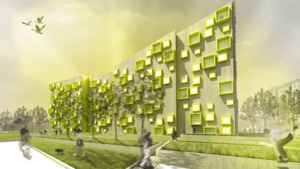 Complejo Residencial Sustentable / Morfearch