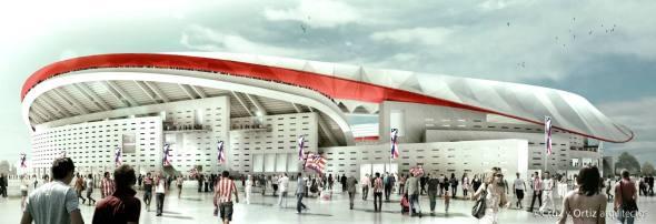 Nueva casa colchonera: Presentación del nuevo estadio del Atlético de Madrid