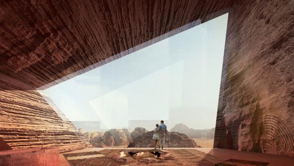 Desert Lodge realizado por Oppenheim Architecture + Design