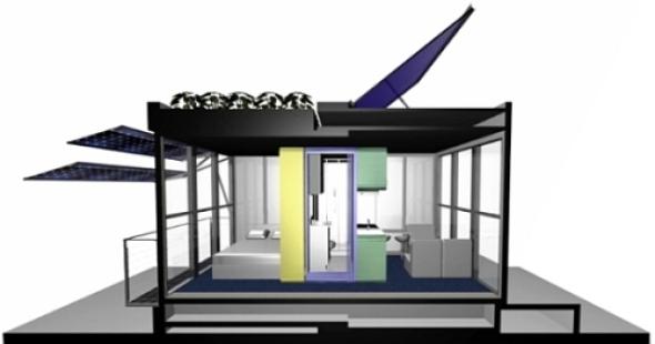 Viviendas Compactas y Autosuficientes realizado por System Design Studio