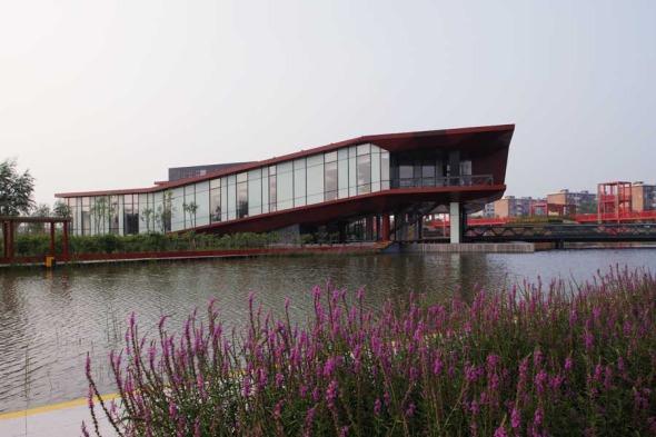 Tianjin Bridge Culture Museum realizado por Sunlay Design