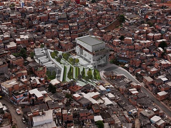 Holcim Awards Gold para un centro de infraestructura cívica en Brasil