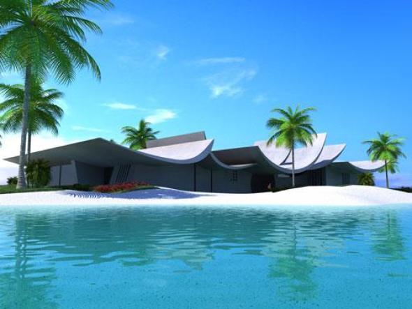 A-cero presenta el proyecto para una villa en Dubai
