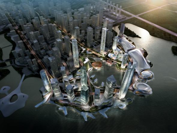 Plan Maestro China-Taiwan para CBD realizado por 10 DESIGN