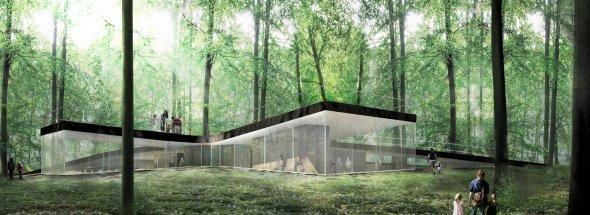 Un espacio para admirar la naturaleza: Nature Centre / EFFEKT