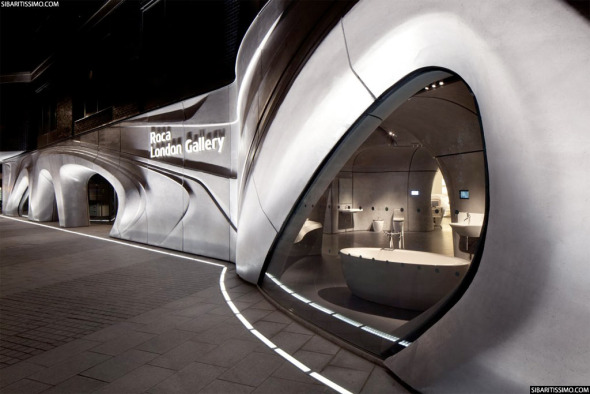 Roca London Gallery / Zaha Hadid [Video]
