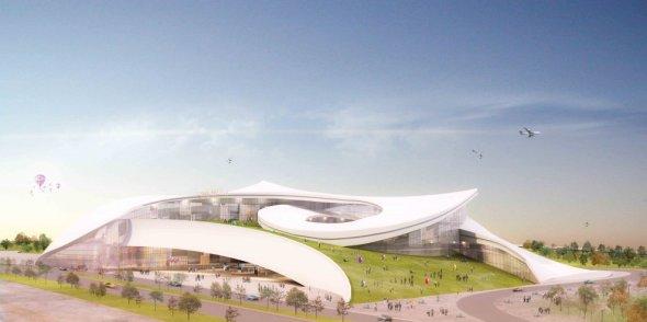 Museo de Arte de la Ciudad Nueva de Taipei realizado por WTA Architecture and Design Studio