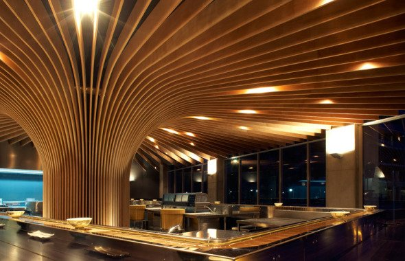 Tree Restaurant realizado por Koichi Takada Architects