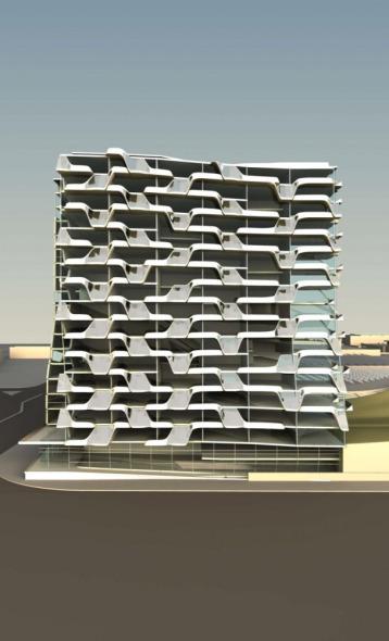 Target Tower realizado por Belzberg Architects