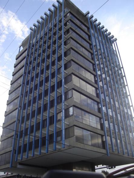 Estructura-Forma-función: Edificio Celanese. Ricardo Legorreta Vilchis