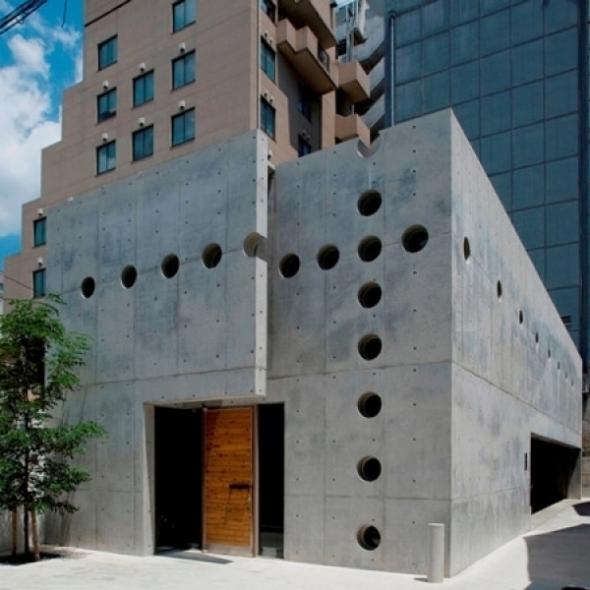 Sólida y elegante casa-taller para un artesano japonés. Eastern Design Office