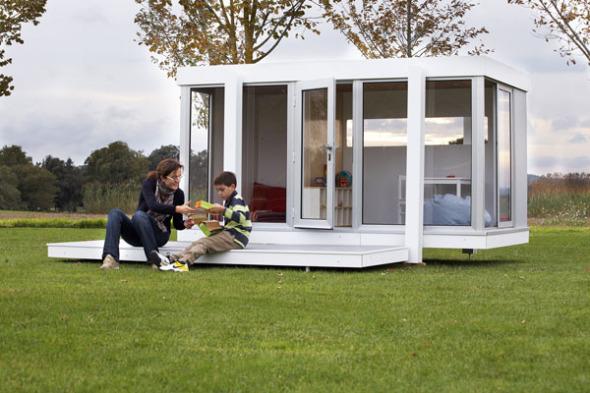 Casitas infantiles con diseños inspirados en las mejores obras de la arquitectura moderna