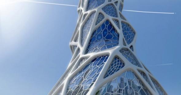 Ornamento y estructura a la vez: Torre Biónica. LAVA