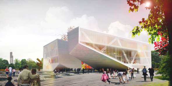 Uno Charter School Proposal realizado por  STL Architects