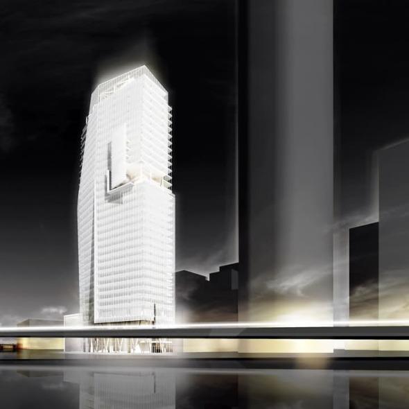 Nueva torre de oficinas de Richard Meier and Partners en México