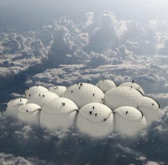 La Nube Viajera, una nueva forma de habitar la ciudad. Tiago Barros