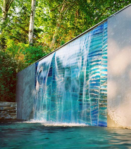 La Cascada Una L Dica Pieza De Agua Y Vidrio Swon