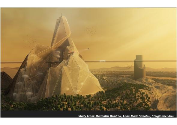 Montaña Viviente, una propuesta para un entorno difícil / Anna-Maria Simatou + Marianthe Dendrou