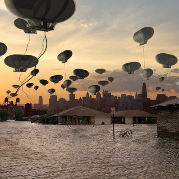 Cloud City, un proyecto experimental de vivienda post-desastre para Nueva York