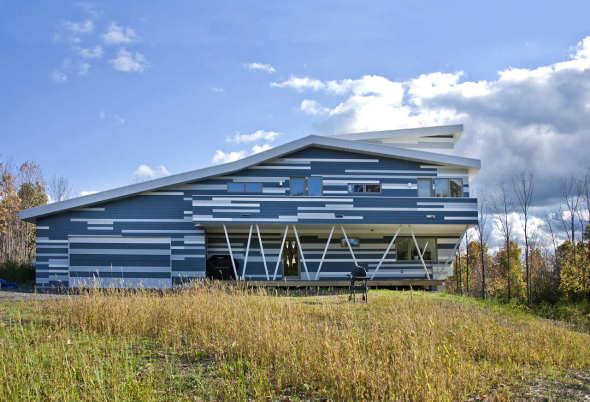 HSU House realizado por EPIPHYTE Lab