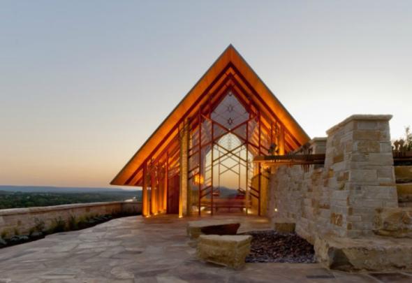 Iglesia en Rancho Roca del Río / Maurice Jennings + Walter Jennings Architects