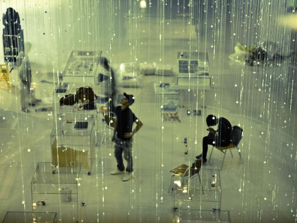 Conejo: Exhibición de Galería de Luz / dEEP Architects