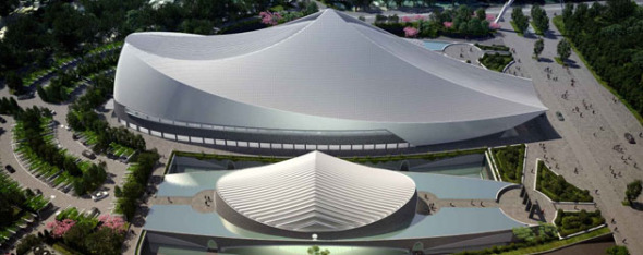 La obra más reciente de Santiago Calatrava: Universidad de Yuan Ze
