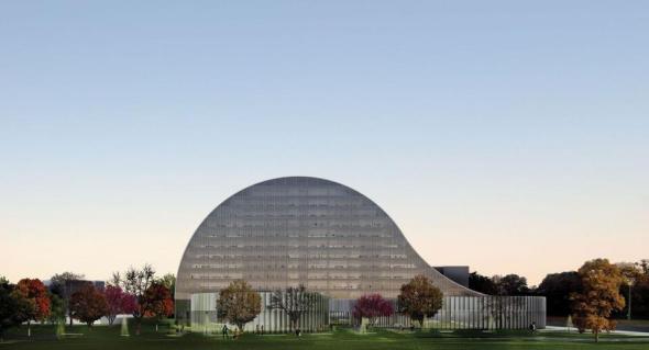 Antwerp Province Hall Proposal realizado por SO